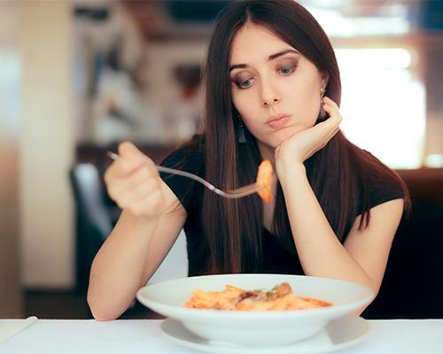 La perte d'appétit