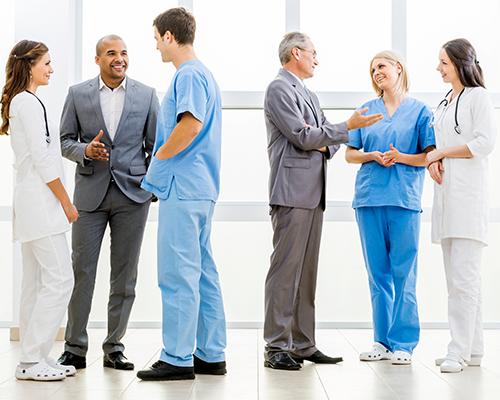 médecins à l'hopital